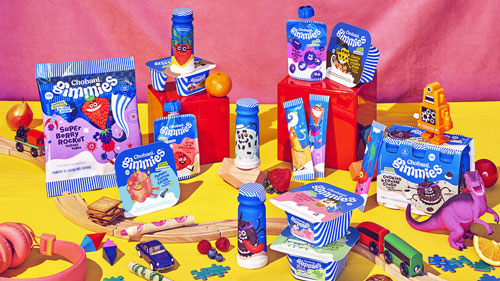 The company hopes that these entertaining ensembles will entice kids and their high protein and low sugar contents will please parents
