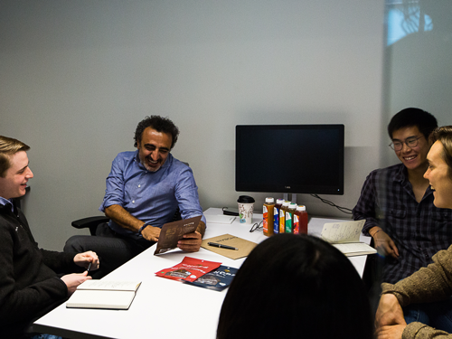 Chobani Founder Hamdi Ulukaya working with forward-thinking founders in the Chobani Incubator program