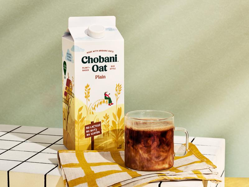 Chobani Coffee Creamers come in four classic flavors, including Caramel, Sweet Cream, Hazelnut, and Vanilla at a suggested retail price of $3.99 per 24oz bottle