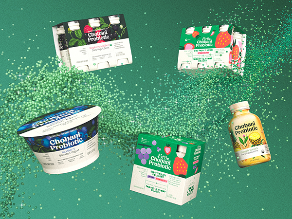 Chobani announced the debut of the new World of Chobani® Probiotics, a full portfolio of probiotic yogurts and drinks, kids pouches and shakes, and non-dairy functional beverages with immunity-supporting probiotics
