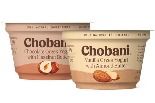 Chobani Greek Yogurt with Nut Butters combines the wonderful Greek yogurt we all know and love with the decadent flavors of protein-packed nut butters