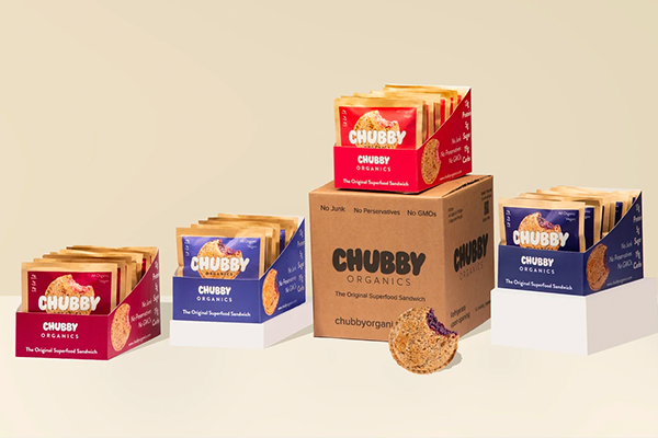The latest launch from Chubby Organics includes grab-and-go superfood sandwiches that not only bring an ease to evolving cheese platters, but update a childhood classic, too