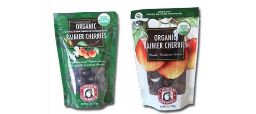 Chukar Cherries Organic Product Line