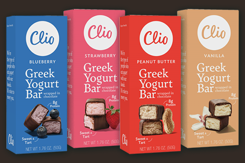 As back-to-school season approaches, Clio Snacks' Greek yogurt bars are a great option for consumers looking to fill lunchboxes or in need of an on-the-go snack