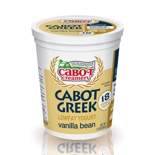 Low Fat Vanilla Bean Yogurt
