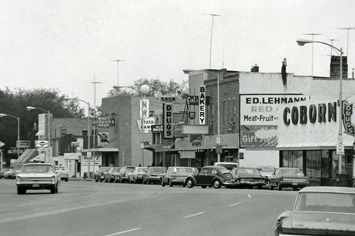 Benton County Main Street Coborn Storefront, 1964