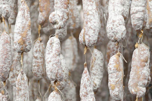 Every salami that Columbus hangs to dry age lives up to the artisan standards the company has had since 1917
