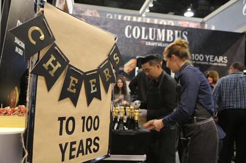 Columbus' 100th Anniversary Celebration at IDDBA