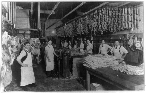 Columbus Craft Meats first started when original owners, Peter Domenici and Enrico Parducci, brought over their family recipes from Italy to the North Beach district of San Francisco