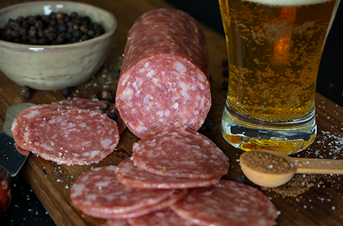 The salami renaissance is in large part due to the popularity of the charcuterie movement