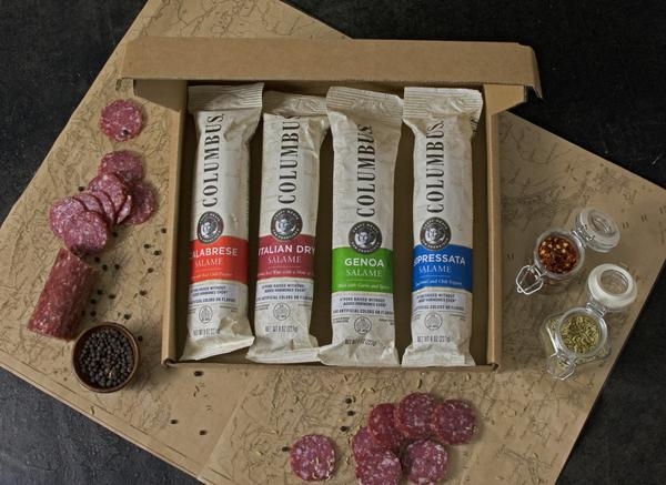 Columbus Meats Salame Varieties