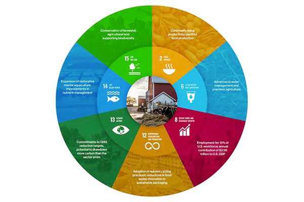 Conagra's efforts to nourish people, the planet, and communities falls into four categories: Good Food, Responsible Sourcing, Better Planet, and Stronger Communities