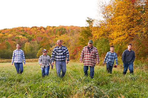 Coombs Family Farms has spent the last seven generations honing its skills in the woods of Vermont, credit: Russell French Photography