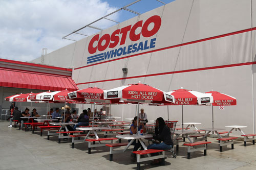 Costco has increased its grocery presence, which is a contributing factor to its growth
