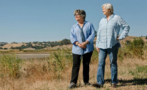 Cowgirl Creamery's Founders and Co-Managing Directors Peggy Smith and Sue Conley