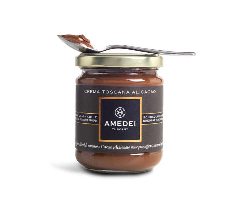Amedei Tuscany shared details of its hazelnut and chocolate at this year's Winter Fancy Food Show