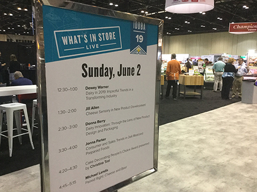 This year's IDDBA expo included a series of General Sessions that featured the likes of Laila Ali, Christina Tosi, Michael J. Fox, and Rob Lowe
