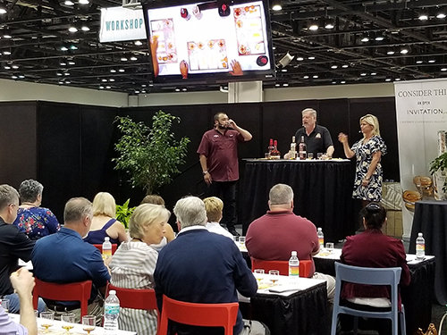 Attendees were given the chance to learn about a variety of topics due to the updated What's In Store Live format, where they learned everything from cheese pairings to omnichannel marketing
