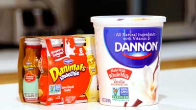 Dannon Non-GMO-Labeled Products