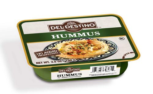 Del Destino 3.5 oz Hummus