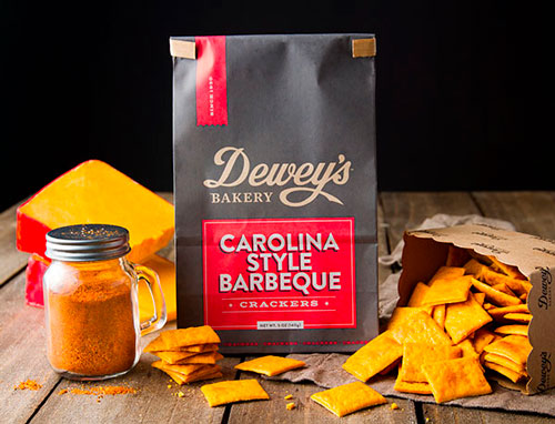 Dewey's Bakery Carolina Style Barbeque crackers