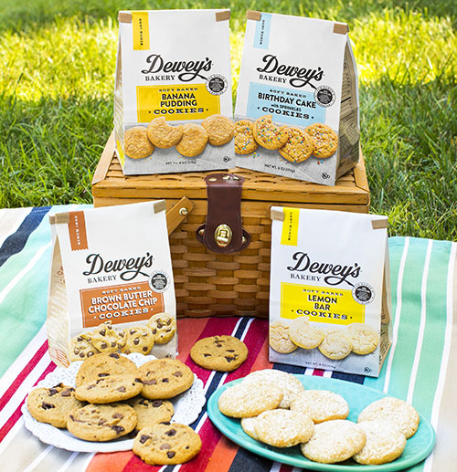With original recipes, clean ingredients, and unique flavors, Dewey's has been baking tastes that are synonymous with celebration since 1930