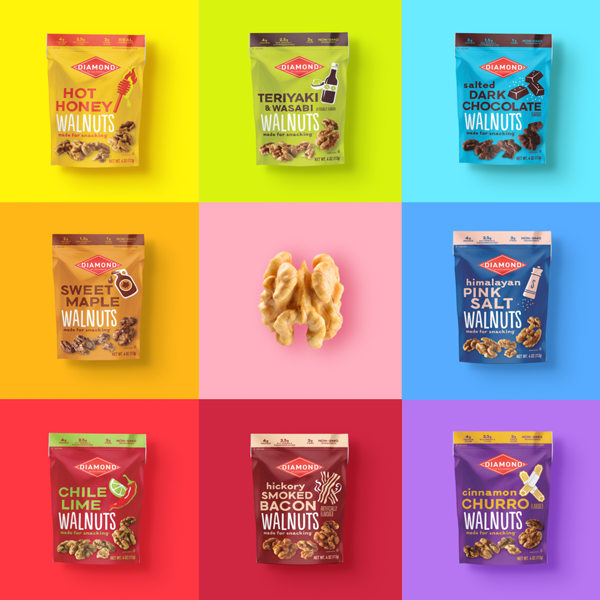 Diamond of California® has launched its own first-ever line of Ready-to-Eat Snack Walnuts as it sets out on a massive brand expansion