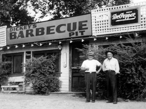 Dickey's Barbecue Pit began as a small barbecue joint in Dallas, TX in 1941 by Travis Dickey