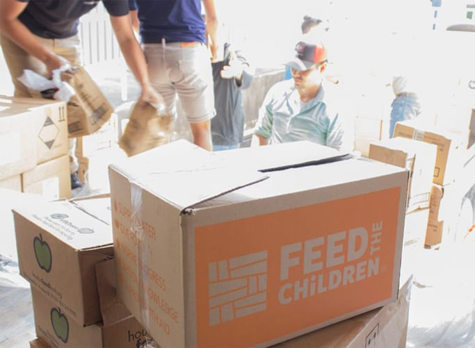 Tyson Foods has partnered with Feed the Children to provide 10 million meals to families in 16 states across America