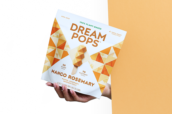 Dream Pops is revitalizing the ice cream category with its eye-catching, plant-based product