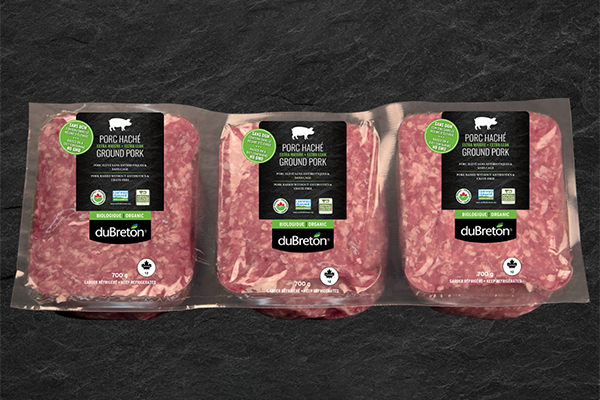 duBreton's organic sliced ham and organic extra lean ground pork will now be available at Costco as the specialty meat company has selected the retailer to complete its organic offering