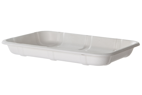 The new trays are Novolex™ brand Eco-Products® is targeting retailers after introducingnew compostable meat trays made from sugarcane, a rapidly renewable resource