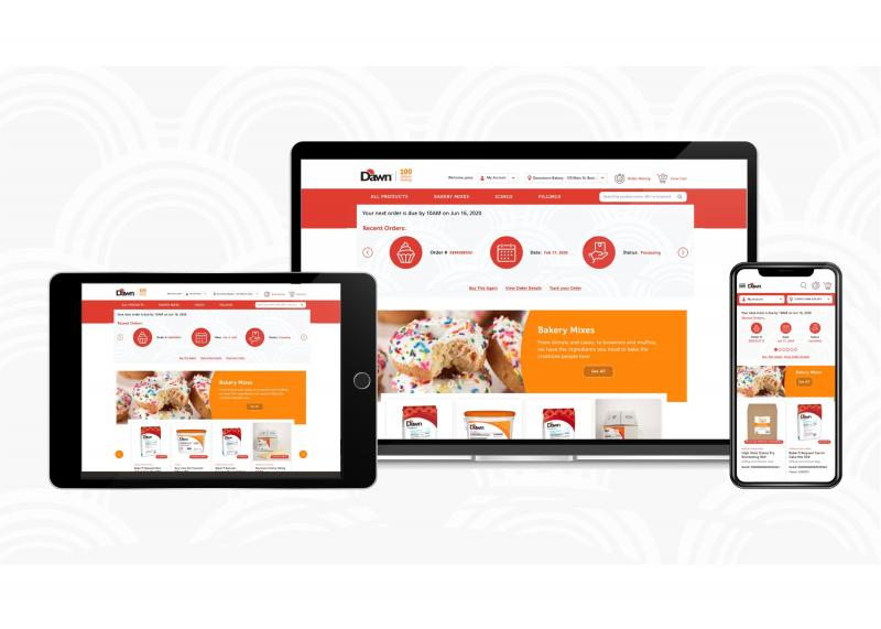 Dawn Foods recently unveiled its eCommerce platform for existing retail bakery customers across the United States, which streamlines the ordering process for its customers