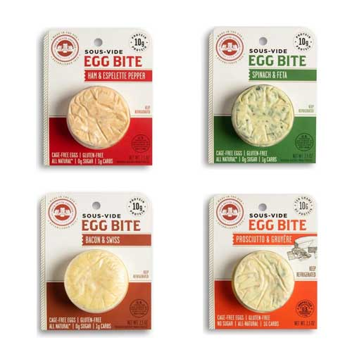 Les Trois Petits Cochons introduces Sous-Vide Egg Bites, a high-protein, low-carb line perfect for both culinary creations and grab-and-go snacking