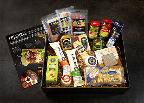 All gift components were selected after careful review and product testing, and Columbus® Craft Meats chose California local accompaniments for its charcuterie when possible