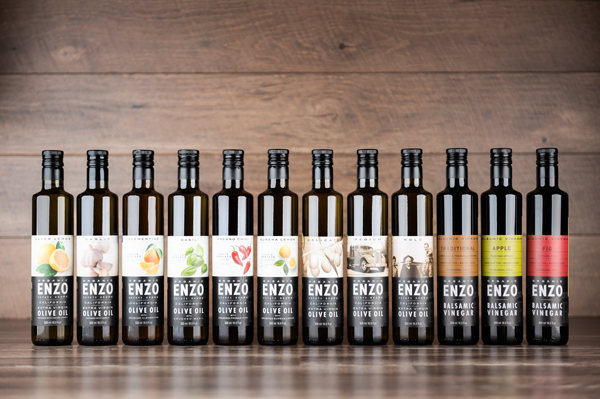 Throughout its versatile and flavorful product lineup, all of the olives used at ENZO Olive Oil Company are 100 percent certified organic