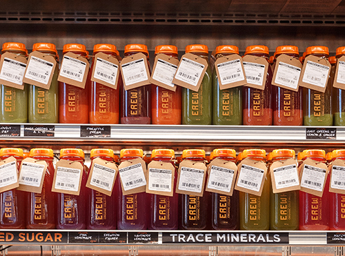 Everything Erewhon makes is made from scratch—from its 36-hour slow cooked bone broths to its breads and baked goods to its cold pressed juices The community-focused grocer seems uniquely suited to take on a shifting retail landscape (photo credit: Carlos R Hernandez)