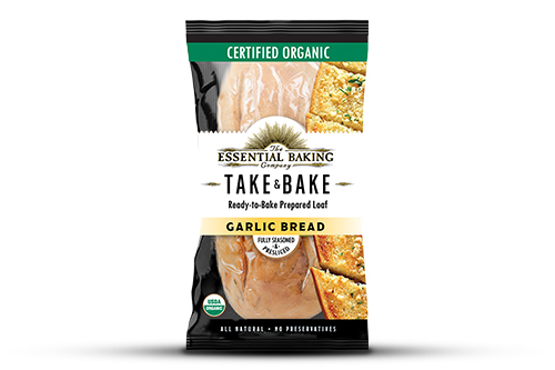 The Essential Baking Company announced a new Garlic Bread addition to its shelf-stable Take & Bake offerings