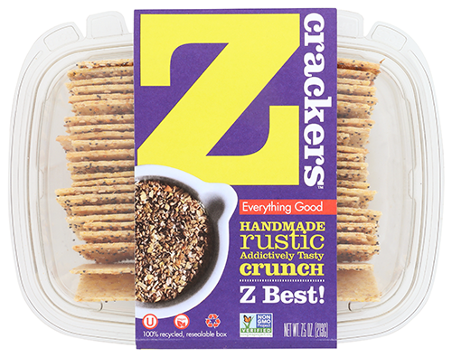Z Crackers is ramping up to become a staple for many shoppers as it has just completed a move to a new higher-capacity bakery in New York City