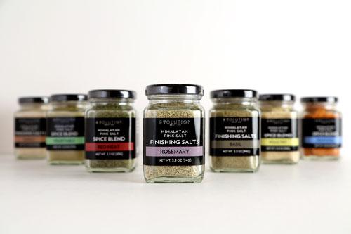 Evolution Salt Co's Salt Blend Shakers