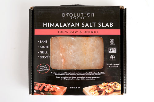 Evolution Salt Co's Himalayan Salt Slab