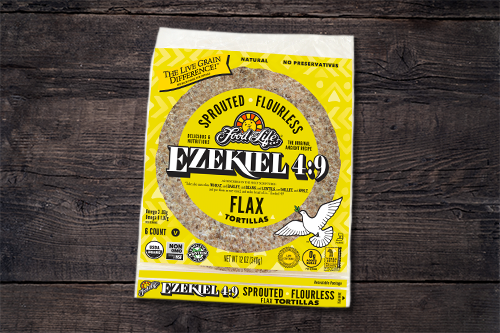 Food For Life Baking Co. recently revealed the launch of its plant-based, organic Ekeziel 4:9 Sprouted Flourless Flax Tortillas