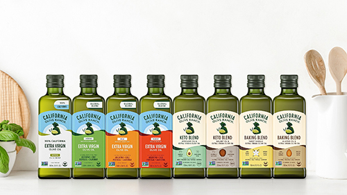 California Olive Ranch recently unveiled a new packaging design, an innovative technology investment, and one of the largest olive tree plantings in recent years