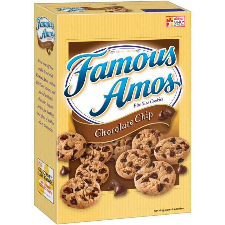 Famous Amos is among the snack brands that Kellogg said it may sell