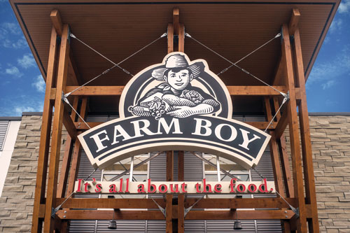 Empire Company Limited made known it is putting big plans into motion for its banner stores Farm Boy and Sobeys across Canada