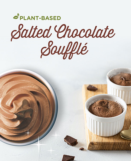 Yogurtland is relaunching its popular Plant-Based Salted Chocolate Soufflé, available now through December