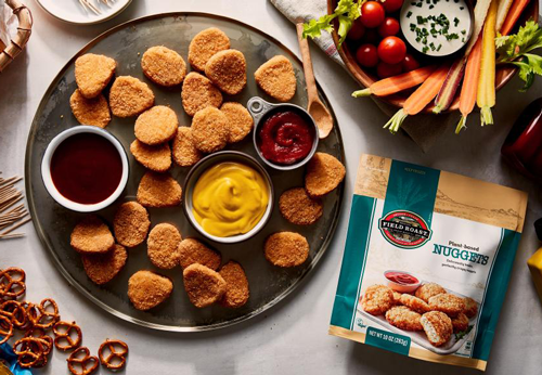 Maple Leaf Foods is once again reinvigorating the plant-based meat sector with its new Field Roast™ Plant-Based Nuggets