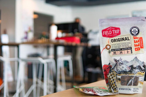 Field Trip Snacks began in 2011, when Tom Donigan and his business partners, Matthew Levey and Scott Fiesinger, began marketing junk-free jerky as an on-the-go, healthy snack