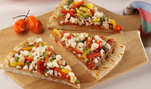 Fiesta Pizza with Queso Blanco