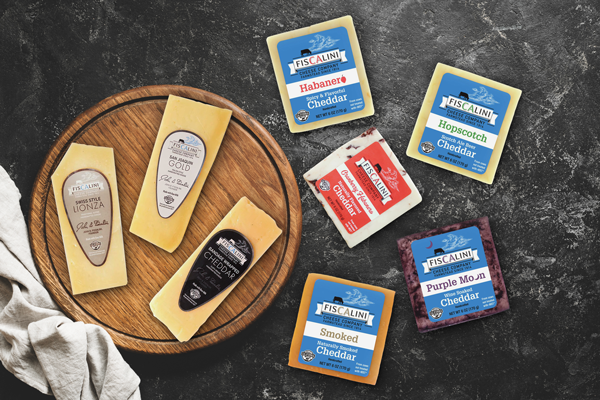 Fiscalini Cheese Company offers a Signature line made with raw milk and an Artisan Line made with pasteurized milk